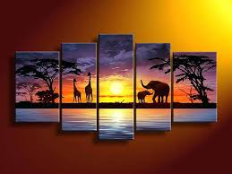 5 piece canvas wall art hand painted palette knife oil hand painted canvas wall art five piece canvas wall art 5 piece hand