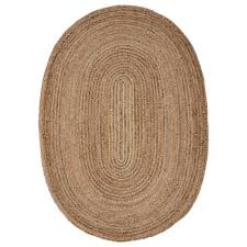 7 jute rug lr resources jute gray 7 ft x 9 ft oval indoor