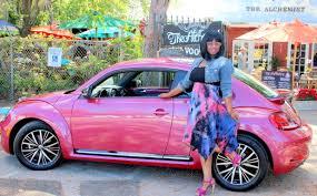 pink convertible volkswagen pink vw beetle rollin through valentine u0027s day