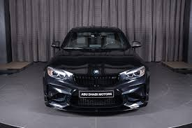 bmw black sapphire black bmw m2 gets ac schnitzer kit in abu dhabi