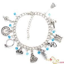 themed charm bracelet bijoux de lou cinderella themed charm bracelet