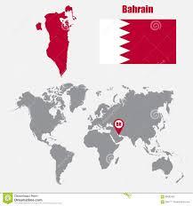 Map Of Bahrain Bahrain On World Map Roundtripticket Me