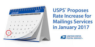 usps announces 2017 postage rate increase for mailing services