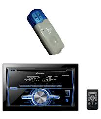 combo of pioneer fh x369ub and usb bluetooth stereo connect audio