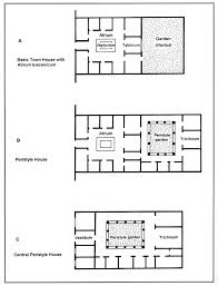 House Plans With Atrium In Center by Roman Courtyard House Plans Arts