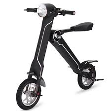 k1 e scooter black kool e scooter