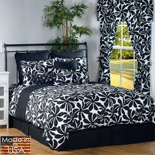 Black And White Comforter Full Black And White Bedding Sets Double U2013 Euro Screens