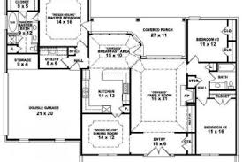 18 open two story house plans one story floor plans one story