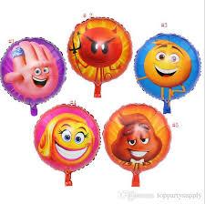 balloon wholesale 2017 18 inches foil balloon wholesale emoji