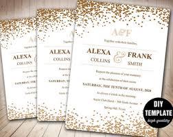 wedding invitations layout wedding invitations etsy orionjurinform