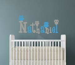 Custom Wall Decals For Nursery Personalized Wall Decals For Baby Name Decal Nursery Owl
