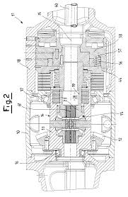 patent us6506138 compact braking assembly in an axle for an patent drawing