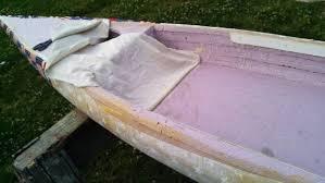 Wooden Boat Shelves Plans by Poor Mans Fiberglass Permanent Exterior Paint Never Paint Again