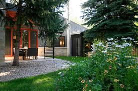 contemporary ranch house contemporary ranch house remodel beautiful backyard with green