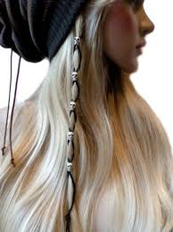 a layered hair wrap how to put strings of beads in hair google search boho