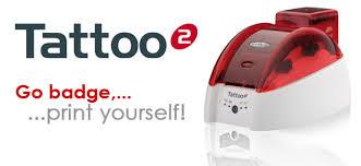 tattoo id card printer evolis tatoo2 card printer evolis canada