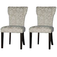Fabric Chairs For Dining Room by Furniture Simple And Elegant Parsons Chairs Floral Fabric And