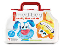 amazon com medibag 117 piece kid friendly first aid kit for the