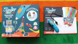 3d drawing pen for kids 3doodler start review