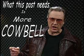 Christopher Walken Cowbell Meme - list of synonyms and antonyms of the word morecowbell