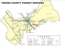 Map Of Fresno Transportation City Of Kerman