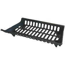 uniflame 27 inch cast iron fireplace grate walmart com