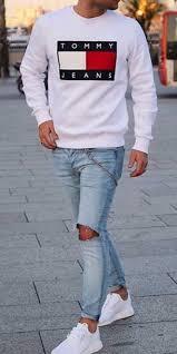 hilfiger sweater mens sweater white hilfiger menswear mens t shirt mens