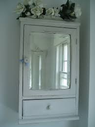 Vintage Bathroom Storage Cabinets Luxurious Alluring Antique White Bathroom Wall Cabinet With