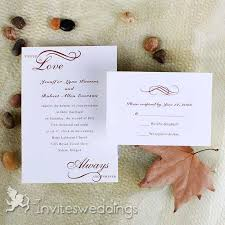 Classic Wedding Invitations Always United In Love Wedding Invitations Iwi210 Wedding