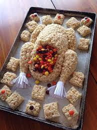 best 25 rice krispie turkey ideas on thanksgiving