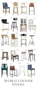 unique counter stools counter stool roundup elements of style blog