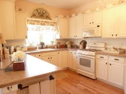 White Kitchen Cabinets White Appliances by Decorating Dear Lillie Kitchen With Pendant Lighting And White