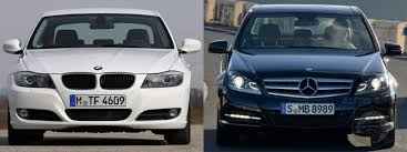 bmw 3 series or mercedes c class to bmw 3 series vs 2012 mercedes c class