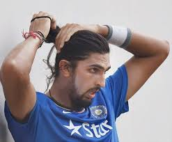 hairstyle to distract feom neck reason behind ishant sharma s new hairstyle revealed