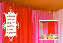 Easy Way To Hang Curtains Decorating Installing Cable Wire For Hanging Curtains Sew4home