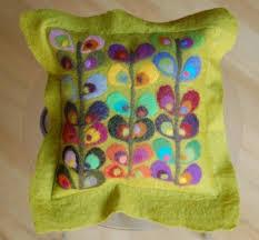 86 best felted cushions images on pinterest felt pillow felt
