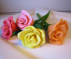 cakes candy and flowers starburst candy roses 7 steps with pictures