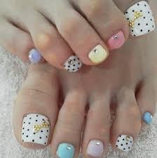 cute nail ideas for toe animal print nail ideas
