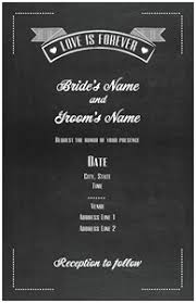 wedding programs vistaprint chalkboard wedding invitations vistaprint