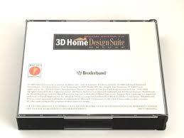 3d Home Design Software Broderbund 3d Home Design Suite Cd Rom Windows 98 Windows 95 U2013 Vintechexpress