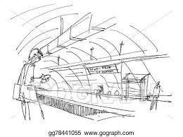 drawings underground metro paris sketch stock illustration