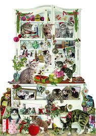 amazon com coppenrath advent calendar u0027mischievous christmas cats