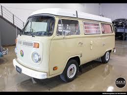 volkswagen van 1978 volkswagen bus vanagon westfalia