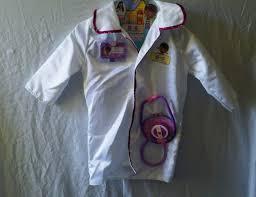 Disney Doc Mcstuffins Halloween Costume Disney Doc Mcstuffins Dress Doctor Coat Halloween Costume