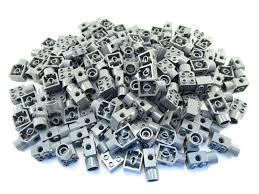 lego technic pieces lego dark bluish gray technic brick 2x2 rotation joint socket lot