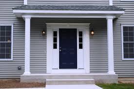 exterior outdoor wall lighting design ideas with wooden door plus