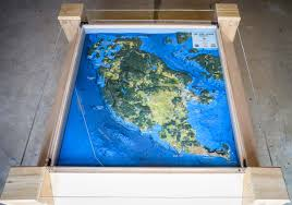 Map Of San Juan Islands A Map At The Museum San Juan Island Update
