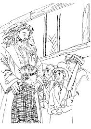 coloring page harry potter coloring pages 30