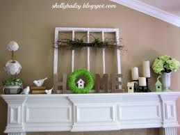 Spring Decoration by Spring Mantel And Home Decor For 2013 Youtube