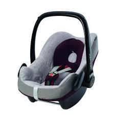 housse siege auto bébé housse éponge bébé confort pour siège auto pebble gris produits